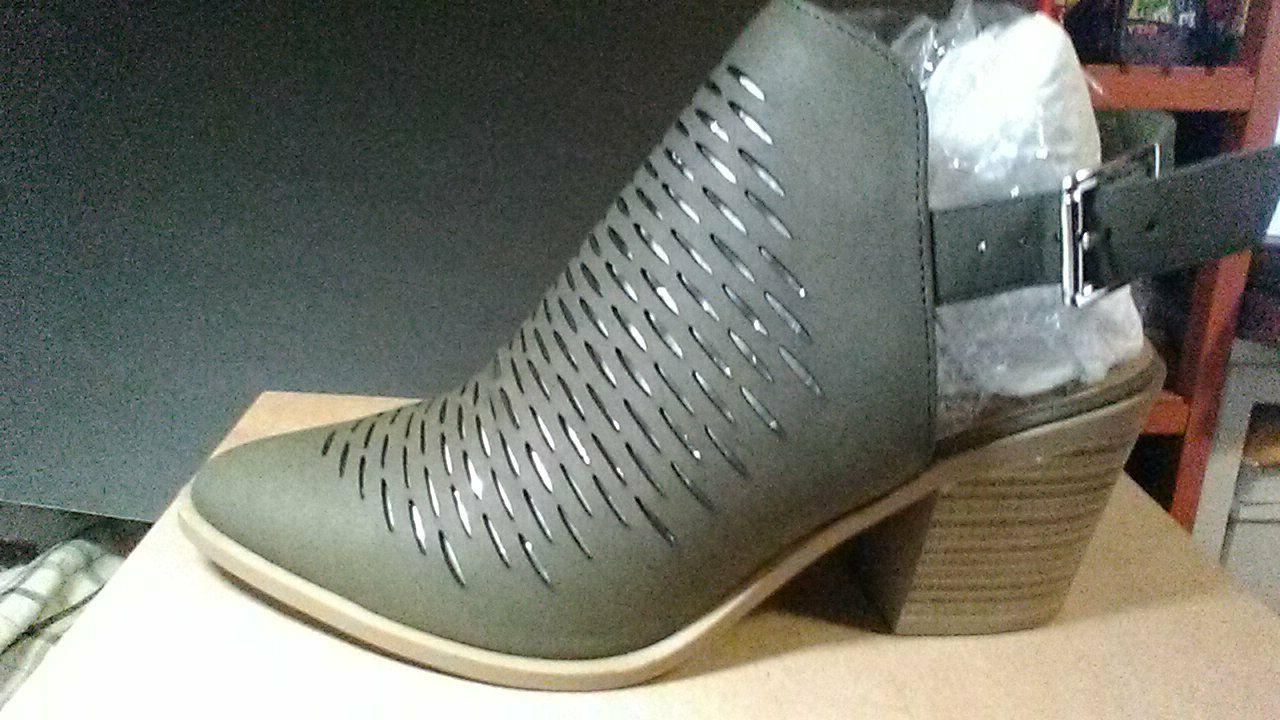 tiny dash perforation western v cut out