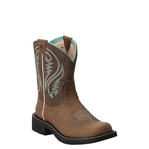 western boots fatbaby heritage tan
