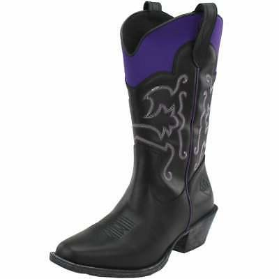 Muck Casual Western Black Womens - Size