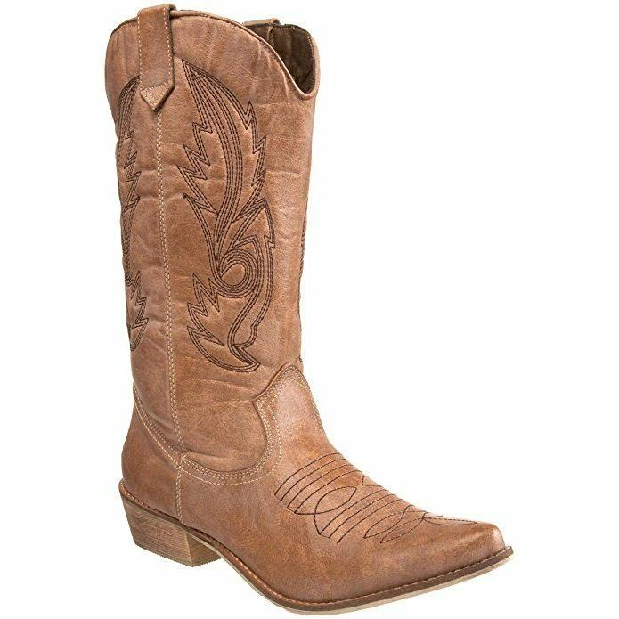 women s coconuts by gaucho boot tan