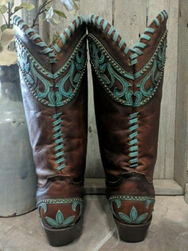 Women's Snip Toe Boots Size