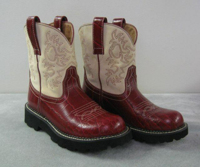 women s fatbaby cowgirl western boots round