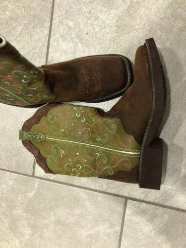 """Justin Gypsy Collection 11"""" Soft Boot Size 8B"""