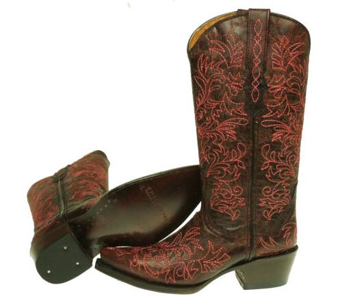 Very Volatile Women's Toe Boots Wine Brown Size 6
