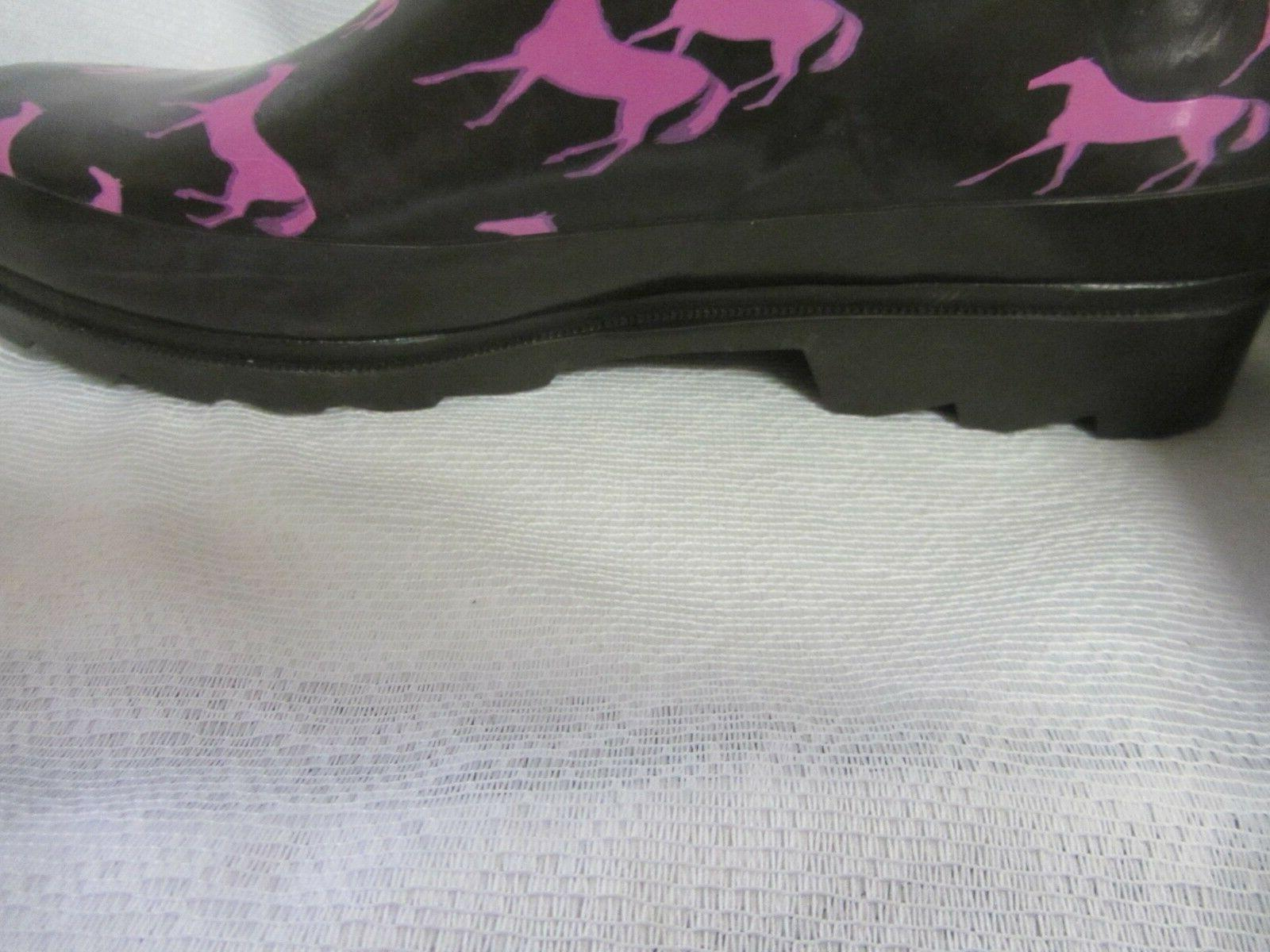 Western Chief Women's Horses Rubber Muck 6 New
