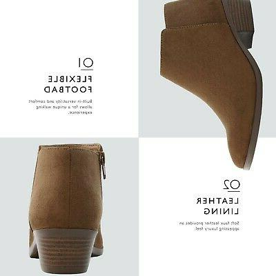 DailyShoes Western Booties Comfortable Pointed