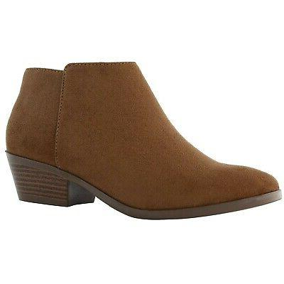 women s western cowboy booties comfortable chunky