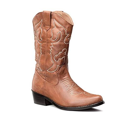 women s western cowgirl cowboy boots tan
