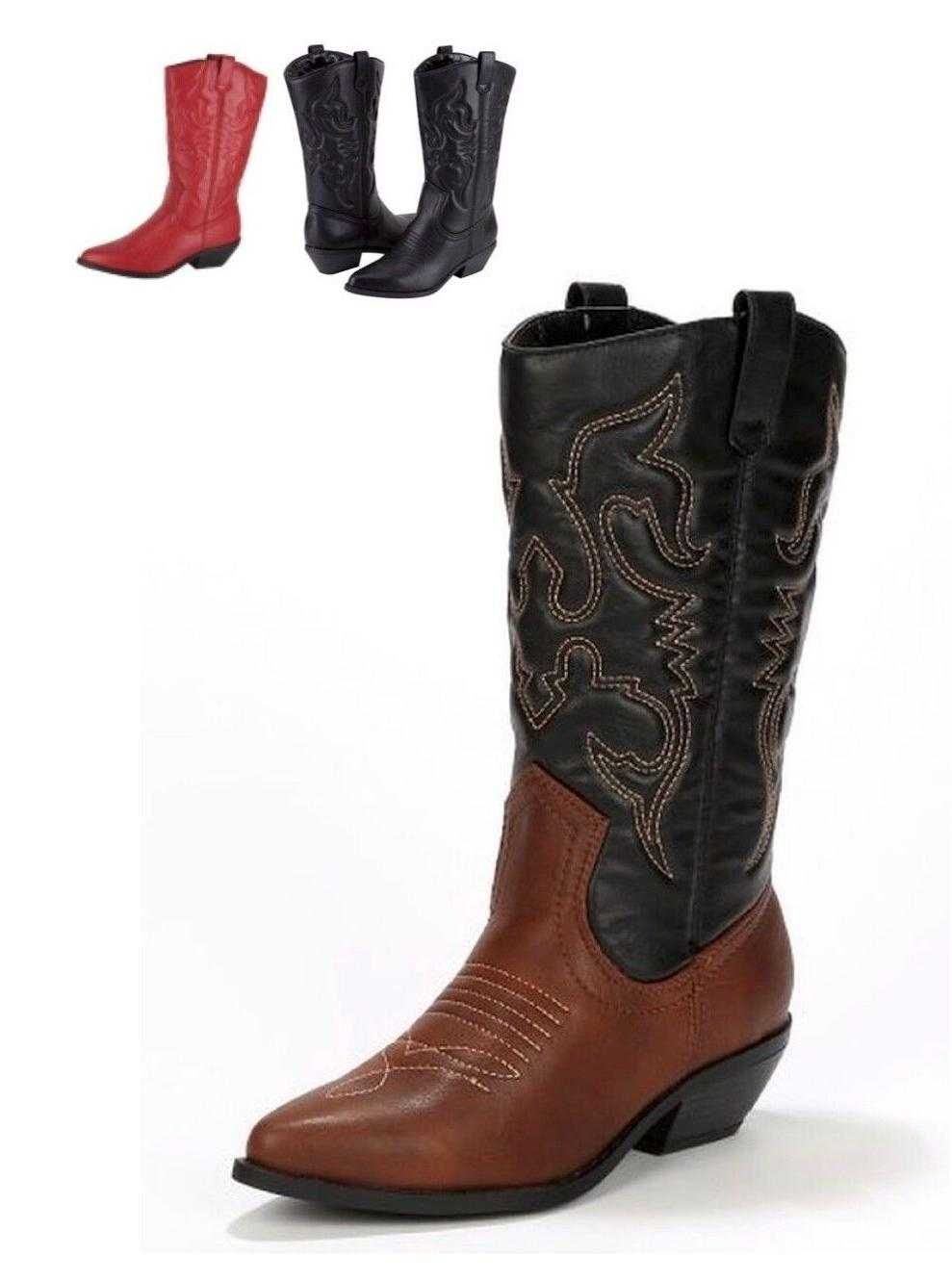 women s western pointy toe rodeo cowgirl