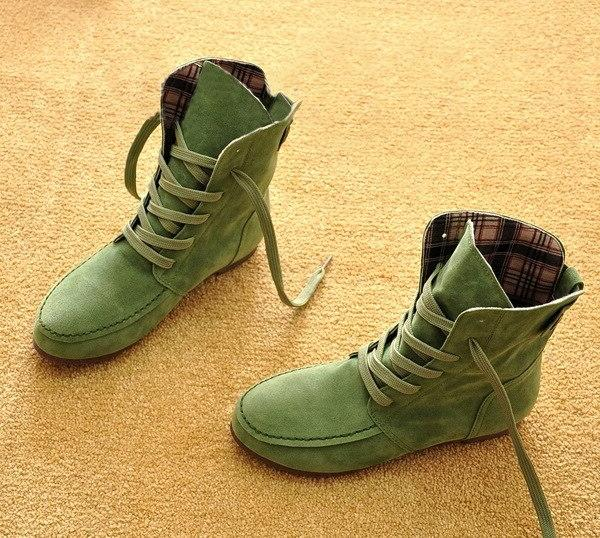 women suede leather ankle font b boots