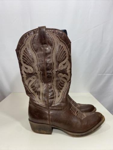 Coconuts Womens Faux Brown Size