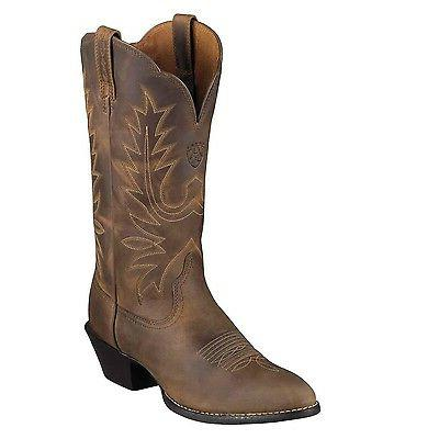 womens heritage r toe cowboy western boot
