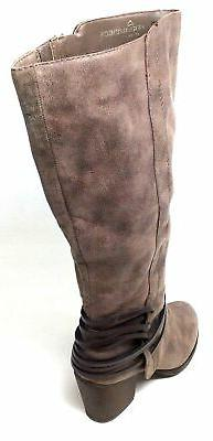 Fergalicious LEXIS-WC Knee High Boots Size 7.5