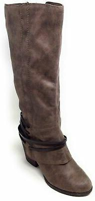 Fergalicious Womens Knee High Boots Size