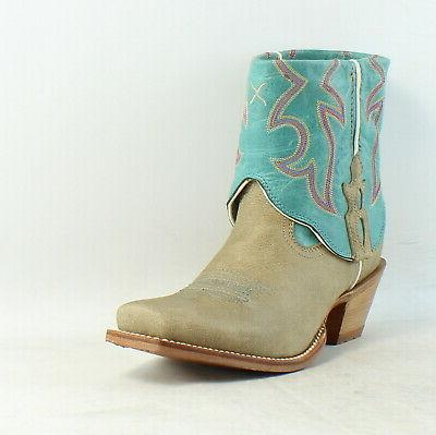 Twisted Steppin' Out Cowboy, Western Ankle Boots
