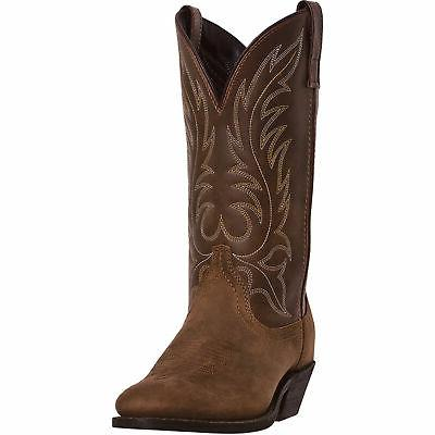 womens tan distressed leather kadi 11in r