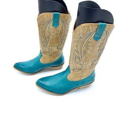 Coconuts Western Turquoise Mid New