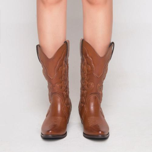 SheSole Winter Cowgirl Boots