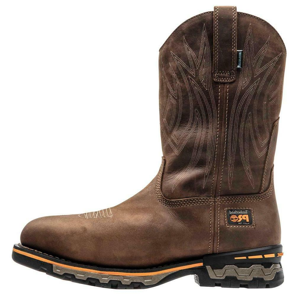 work boots ag boss alloy toe pull