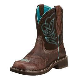 Ariat Ladies Fatbaby Heritage Dapper Western Boots 10016238