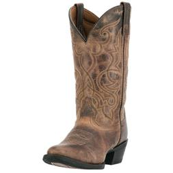 Laredo Womens Maddie Western Cowboy Boots Distressed Leather