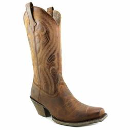 Women's Ariat Lively Western Boot, Size 9 M - Brown