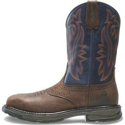 Wolverine Men Javelina High Plains Western Wellington Steel