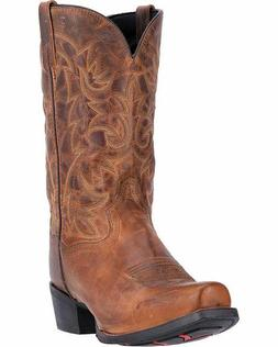 MEN'S LAREDO BRYCE WESTERN BOOTS BROWN LEATHER 68442