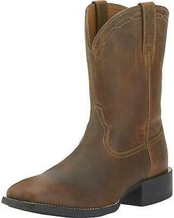 men s heritage roper boot wide square