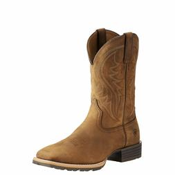 Ariat® Men's Hybrid Rancher Distressed Brown Square Toe Boo