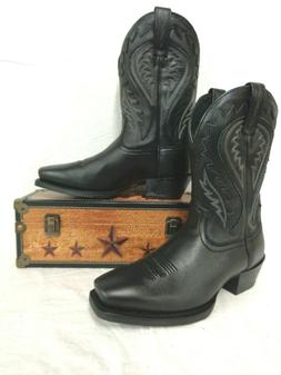 "Ariat Men's Legend Phoenix Western Boot 11"" Blk Deertan Sq.T"