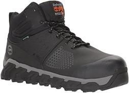 Timberland PRO Men's Ridgework Mid Industrial Boot, Black, 1