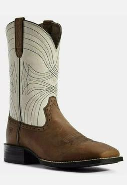 Ariat Men's Sport Wide Square Toe Western Cowboy Boot Dover