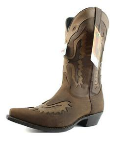 Laredo Mens  Brown Cowboy, Western Boots Size 9 New