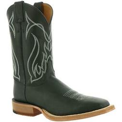 Justin Boots Mens Caddo Chester Black Cowboy, Western Boots
