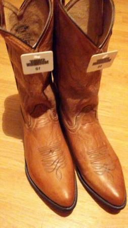 Smoky Mountain Boots Mens  Tan Leather  Western style 6025