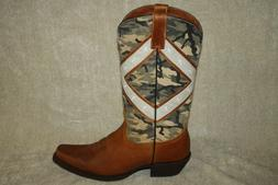 MENS COLT FORD WESTERN BOOTS CAMO US SIZE 9