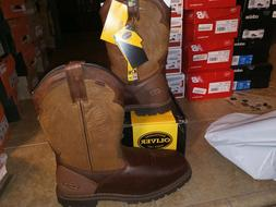 NEW $150 Mens Oliver Western Style Met-Guard Work Boots Shoe