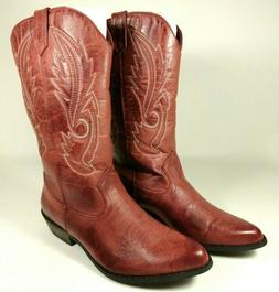 New Coconuts By Matisse Womens Sz 9.5 M Gaucho Red Cowboy We