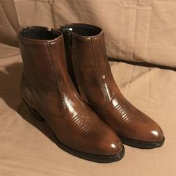 NEW Laredo Cowboy Western Boots Mens Size 9 D Brown PA6671 L