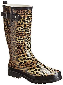 NEW! Western Chief for Target Leopard Print Rain Boot / Rain