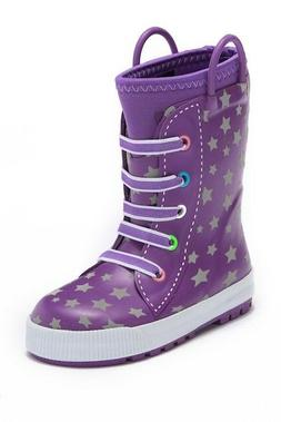 New Western Chief Girl's Waterproof Insulated Neoprene Rain