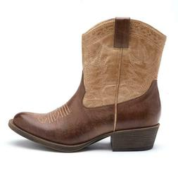 NEW in Box Coconuts by Matisse Pistol Western Ankle Cowboy B