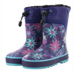 New Western Chief Kids Toddler Girls Waterproof Rain Boots P