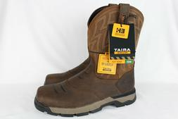 New Ariat Men's Work Rebar Flex Western Boots Size 10.5m Bro