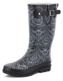 NEW - Western Chief Women's Symphonic Waterproof Rubber Rain