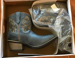 NEW Womens LAREDO Size 6.5 Western Boots Blue Leather