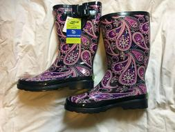 NWT Western Chief Boots, Waterproof Rain Snow Barn, Pink Pai
