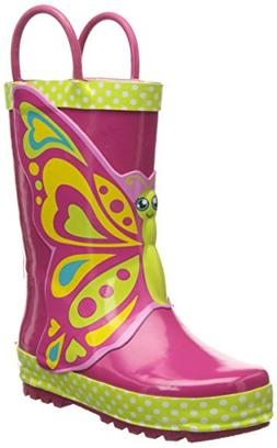 Toddler Girl's Western Chief 'Butterfly Star' Rain Boot, Siz