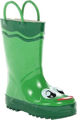Toddler Boy's Western Chief 'Frog' Rain Boot, Size 5 M - Gre